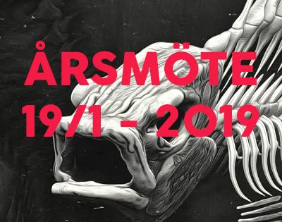 Årsmöte: Lördag 19/1 – 2019