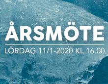 Årsmöte 11/1-2020