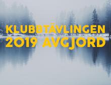 Klubbtävlingen 2019 är avgjord