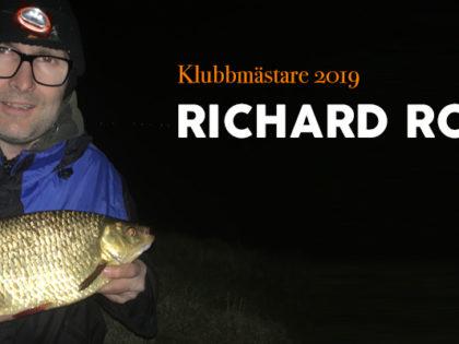 Årets klubbmästare: Richard Rosén